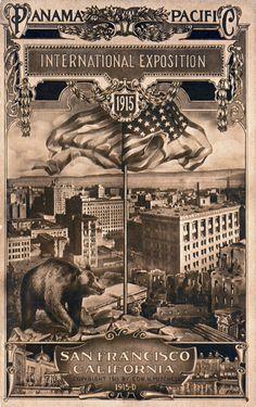 EVENT: Panama Pacific - International Exposition - 1915