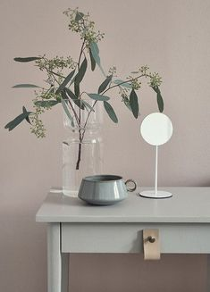 Move over Serenity Blue – we're pairing our Rose Quartz with something a bit different… - The Maker Place Interior Styling, Interior Decorating, Interior Design, Pastel Interior, Decorating Blogs, Sweet Home, Home Decoracion, Deco Floral, Pink Walls