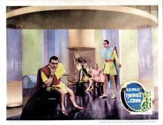 Things To Come Us Lobbycard Edward Chapman Pearl (White) Argyle Raymond Massey (Lobbycard) 1936 Movie Poster Masterprint (28 x 22)
