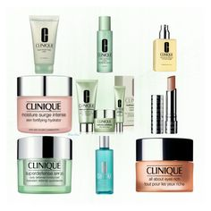 """""""My Clinique wishlist"""" by moon-blue ❤ liked on Polyvore featuring beauty and Clinique"""