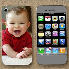 Personalize your phone skin with a personal photo. Great gift idea!