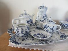 Blue Danube Coffee and Tea Service   Blue Danube