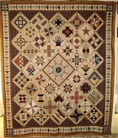 Want to do a medallion quilt ONE DAY?