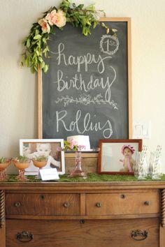 Rollins' Floral First Birthday — 3A DESIGN STUDIO
