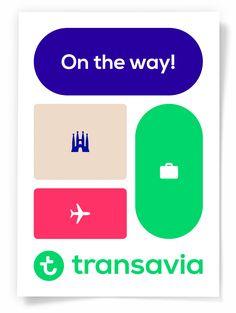 Studio Dumbar: Rebranding Transavia Visual Identity