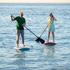 Stand up Paddle Boarding in Northern Michigan on Lake Michigan!! I want to try this :)