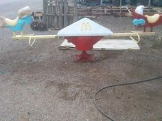 Vintage McDonald's Fry Kids Play Place See-Saw Teeter-Totter
