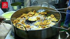 Authentic Mumbai Street Food - How To Making Rabadi Jalebi -Famous Sweet Dishe -Area Bandra West, ,