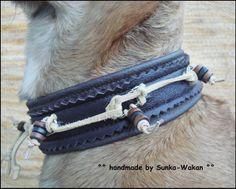 TUWA - Zugstopp Hundehalsband von °Solo-Con-Perro° http://de.dawanda.com/shop/Solo-Con-Perro