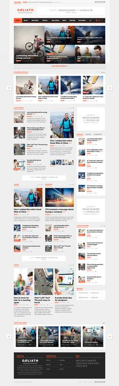 GOLIATH - Ads Optimized News & Reviews Magazine | Live Preview and Download: http://themeforest.net/item/goliath-ads-optimized-news-reviews-magazine/9670200?ref=ksioks