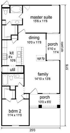 Plan 84-510 - Houseplans.com