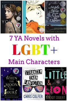 YA LGBT Books - These books feature LGBTQIA characters and eye opening and inspiring for both teens and adults.