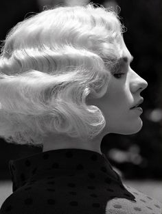 Fingerwaves. I wish I could find someone to do this to my hair!