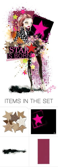 """Star is Born"" by frism ❤ liked on Polyvore featuring art, dolls, paperdoll, dollmaker, dollcommunity and frism"