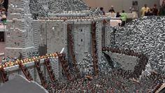 O Senhor dos Anéis – Batalha do Abismo de Elmo feita com LEGO! | Garotas Nerds
