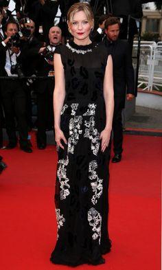 Kirsten Dunst At The Premiere Of 'Inside Llewyn Davis' At Cannes film Festival, 2013