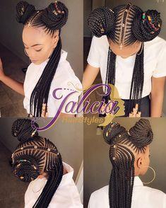 African Hair Braiding : Braided Cornrow Hairstyles: The Best Styles You will Love Wedding Digest Naija Braided Cornrow Hairstyles, Braided Hairstyles For Black Women, African Braids Hairstyles, Little Girl Hairstyles, Black Hairstyles, Teenage Hairstyles, Braids Cornrows, Ladies Hairstyles, Fulani Braids
