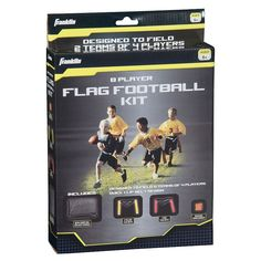 Franklin 8-Player Youth Flag Football Kit, Multicolor