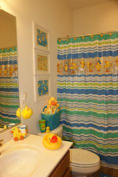 Duck Bathroom Decor For Kids