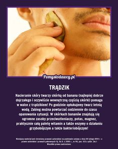 NIEZWYKŁY SPOSÓB NA SKUTECZNĄ WALKĘ Z TRĄDZIKIEM! Beauty Care, Diy Beauty, Beauty Hacks, Face Care, Body Care, Healthy Style, Alternative Therapies, Natural Cosmetics, Good To Know
