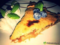 Štrůdl  #fitdobroty #fitfood #food #foods #foodie #fitness #cake #apple #blueberry #yoghurt #loveit #lovefood #fitness #fitgirl #cooking #fitcooking Cheesesteak, Love Food, Fitness Cake, Blueberry, Foodies, Gluten, Apple, Cooking, Ethnic Recipes