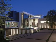Design und extremer Luxus in einer 35 Millionen Dollar-Villa in Beverly Hills