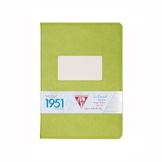 Clairefontaine 1951 Back to Basics A5 Notebook - Green