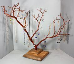 Jewelry Tree  Large Manzanita  1040 by RedBarkDesigns on Etsy, $39.00