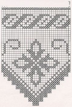 The edging in the photo says it is from a pattern found in Filet Crochet Charts, Crochet Borders, Crochet Motif, Crochet Doilies, Crochet Flowers, Crochet Lace, Thread Crochet, Crochet Stitches, Cross Stitching