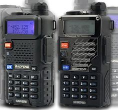 In our immediately previous article, we recommended the Baofeng and/or the Baofeng as the best general purpose two-way radio. When you buy a either radio, you usually get the radio in a … Radios, Survival Prepping, Emergency Preparedness, Emergency Radio, Survival Stuff, Urban Survival, Radio Code, Cool Electronics, Gadgets