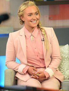 Baby bliss: Hayden Panettiere gushed about how motherhood is an 'out of body' experience while appearing on Good Morning America on Monday Celebrity Moms, Celebrity Beauty, Celebrity Gossip, Celebrity Style, Prettiest Actresses, Beautiful Actresses, Scarlett O Connor, Nashville Tv Show, Lennon Stella