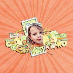 Sweet and Sunny Kit by @Aprilisa Designs at Zig Zag Scrap #digi #digital #scrapbook #scrapbooking