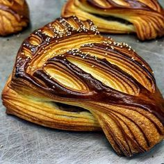 My some best picture of 😆😅🙉 Breads. Breakfast Pastries, Bread And Pastries, Cooking Bread, Bread Baking, Japanese Bakery, Croissant Recipe, Pastry Design, Bread Art, Croissants
