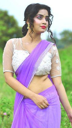 Beautiful Blonde Girl, Beautiful Girl Image, Beautiful Women, Korean Beauty Girls, Beauty Full Girl, Saree Models, Indian Models, Fancy Sarees, Most Beautiful Indian Actress