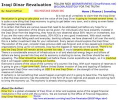 Dinar inc exposed for iraqi dinar revaluation claims