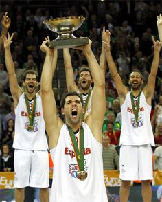 Copa de campeones de basket de Europa selección española de baloncesto Eurobasket 2011