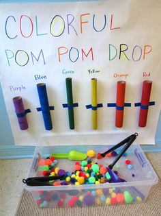 Pom-Pom Color Fun for Toddlers