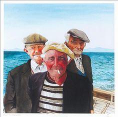 Una Heaton: Men of Arran Arran, Couple Photos, Painting, Men, Products, Couple Pics, Paintings, Couple Photography, Draw