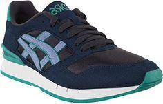 """Herren Sneakers """"Gel-Atlanis"""" navy/light blue - http://on-line-kaufen.de/asics/marineblau-herren-sneakers-gel-atlanis-navy-blue-18"""