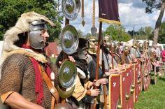 """#IMT13-Blogparade: """"Die Römer sind los!"""", Römisches Museum für Kur- und Badewesen Bad Gögging und Kastell Abusina in Eining @BadGoegging"""