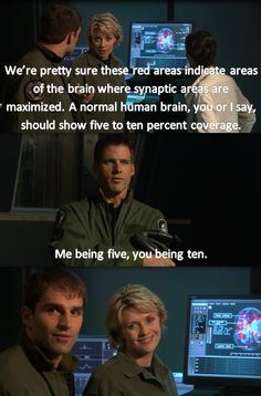Stargate SG-1: reason #101 why I love Cam!!!