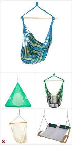 Shop Target for swin Hammock Swing, Hammock Chair, Swinging Chair, Hammock Ideas, Cute Room Decor, Room Decor Bedroom, Design Bedroom, My New Room, My Room