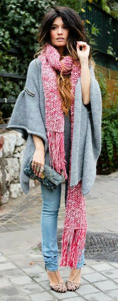 Love everything about this scarf!!!