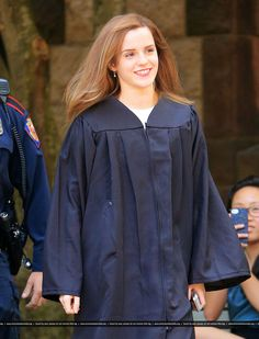 Emma Watson – Graduates From Brown University in Providence – May 2014