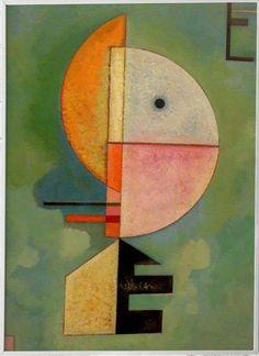 Bauhaus, Kandinsky Art, Symbols, Painting, Art And Architecture, Visual Arts, Paintings, Painting Art, Painted Canvas