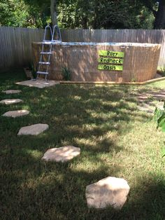 Above Ground Pool Pallet Sign Redneck Swimming Hole Crosby Tx