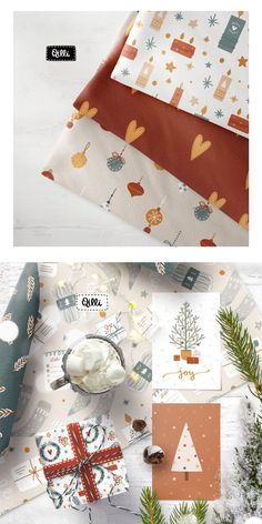I present to you my new amazing Cozy Christmas Collection! Beautiful cozy illustrations for your projects. This Christmas set contains 175 items: 120 isolated elements, 20 seamless patterns, 10 Christmas cards, 14 phrases, 9 combinations. This clipart and patterns are perfect for graphic design, cards, posters, prints, apparel, packaging, t-shirts design, and more!