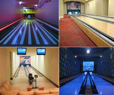 Bowling in the luxury of your own Ka-Jillion $ Home....