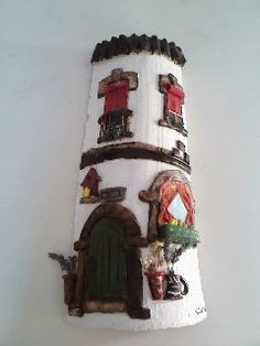 teja decorada ,modelo exclusivo de Silvia Lázaro Gavaldá, solo por encargo Roof Tiles, Candle Sconces, Wall Lights, Candles, Biscuit, House, Home Decor, Model, Arts And Crafts