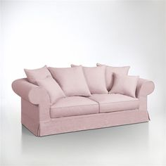 1000 images about pink sofas canap s rose on pinterest canapes pink sofa and salons. Black Bedroom Furniture Sets. Home Design Ideas